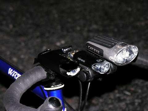 明るい自転車用ライトが欲しい ...